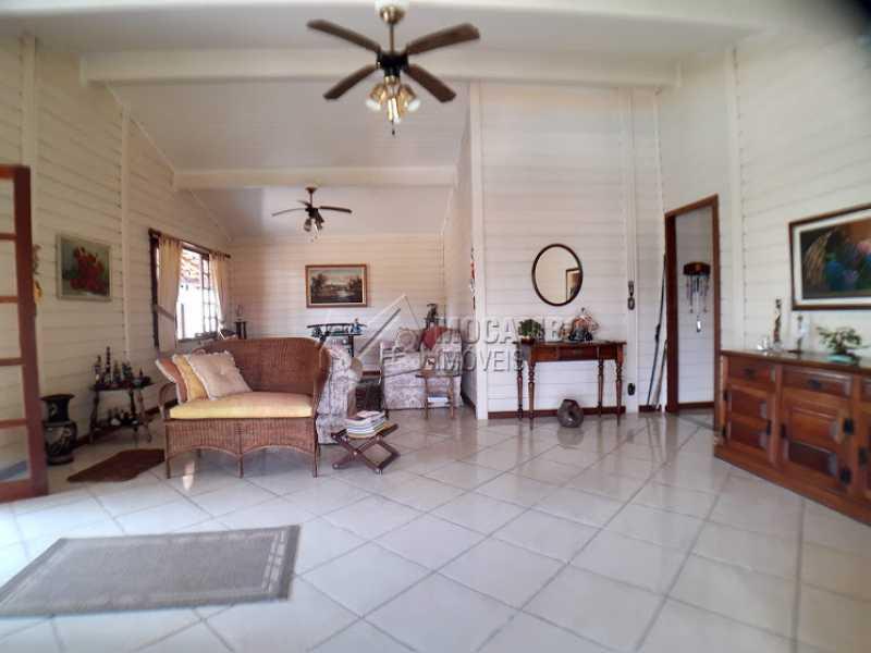 Sala dois Ambientes  - Casa em Condomínio Cachoeiras do Imaratá, Itatiba, Real Parque Dom Pedro I, SP À Venda, 3 Quartos, 453m² - FCCN30424 - 15