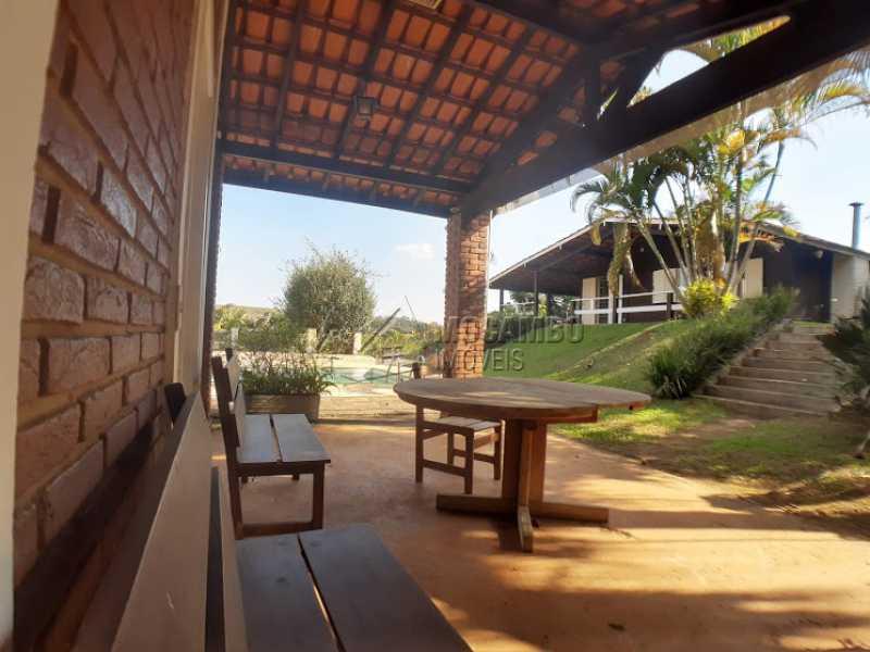 Área Externa  - Casa em Condomínio 3 Quartos À Venda Itatiba,SP - R$ 580.000 - FCCN30425 - 8
