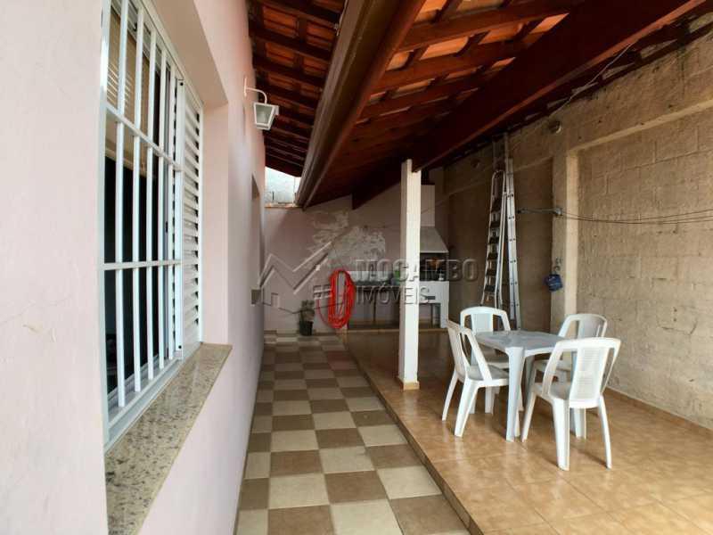 Quintal - Casa 3 quartos à venda Itatiba,SP - R$ 550.000 - FCCA31278 - 16