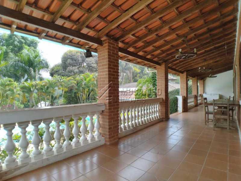 Terraço - Chácara 7050m² à venda Itatiba,SP - R$ 1.300.000 - FCCH40031 - 16