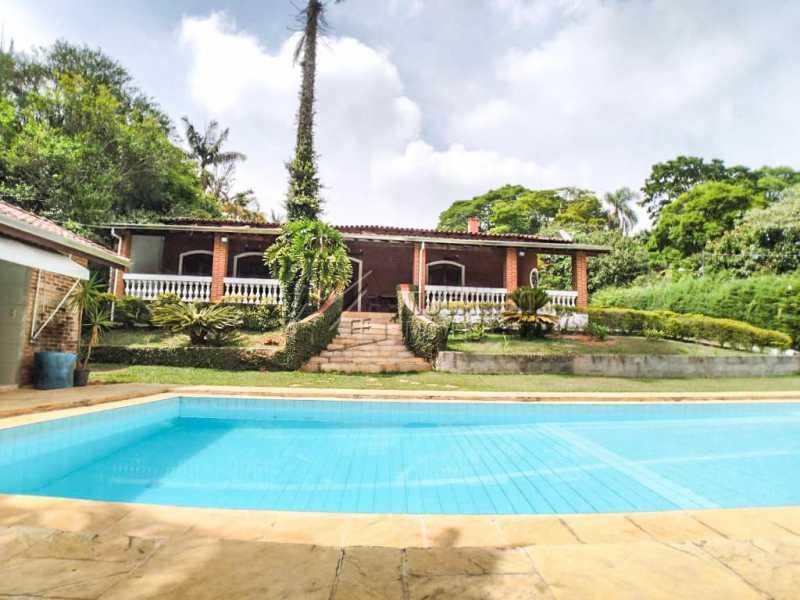Casa e Piscina - Chácara 7050m² à venda Itatiba,SP - R$ 1.300.000 - FCCH40031 - 1