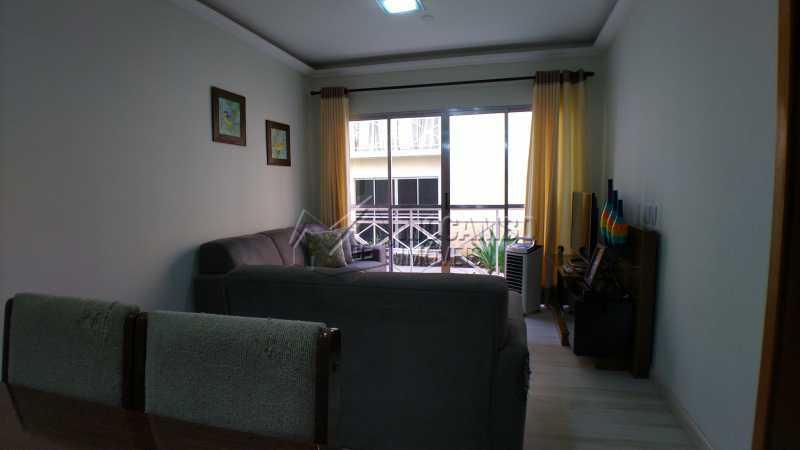 Sala - Apartamento Condomínio Residencial Fernanda, Itatiba, Jardim México, SP À Venda, 2 Quartos, 58m² - FCAP21025 - 4