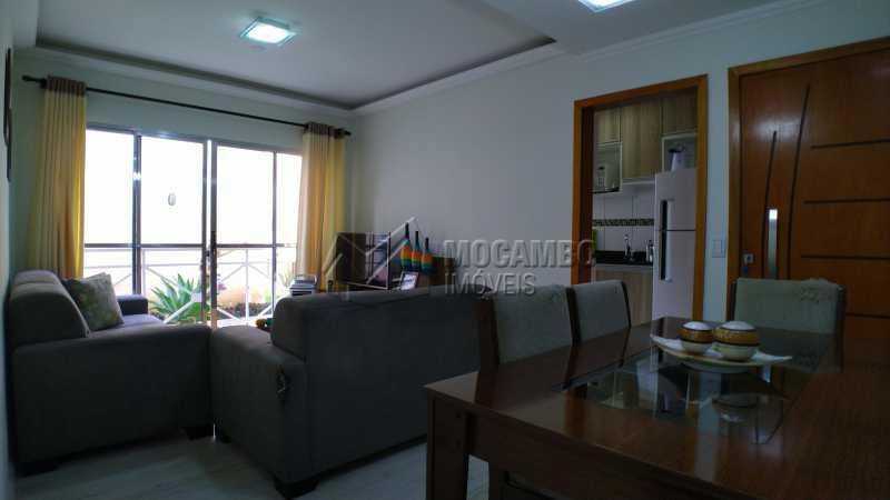 Sala - Apartamento Condomínio Residencial Fernanda, Itatiba, Jardim México, SP À Venda, 2 Quartos, 58m² - FCAP21025 - 5