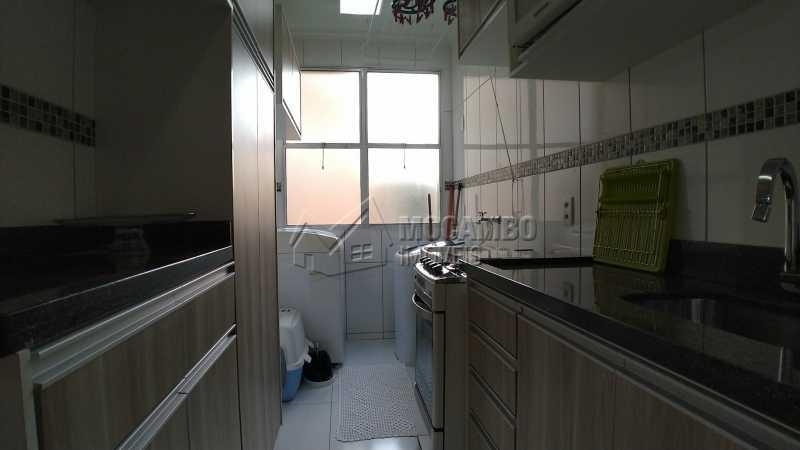 Cozinha - Apartamento Condomínio Residencial Fernanda, Itatiba, Jardim México, SP À Venda, 2 Quartos, 58m² - FCAP21025 - 6