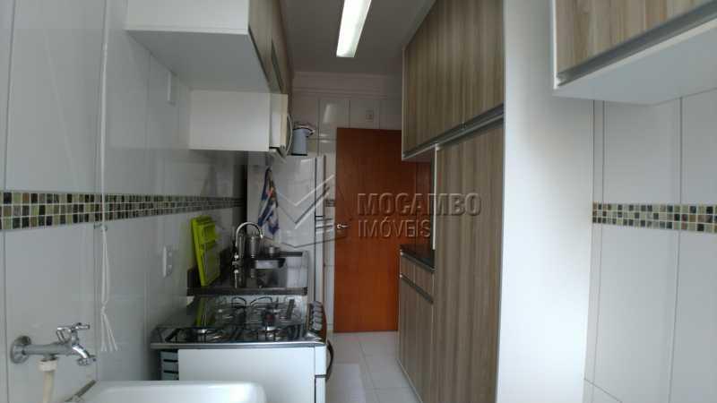 Cozinha - Apartamento Condomínio Residencial Fernanda, Itatiba, Jardim México, SP À Venda, 2 Quartos, 58m² - FCAP21025 - 7