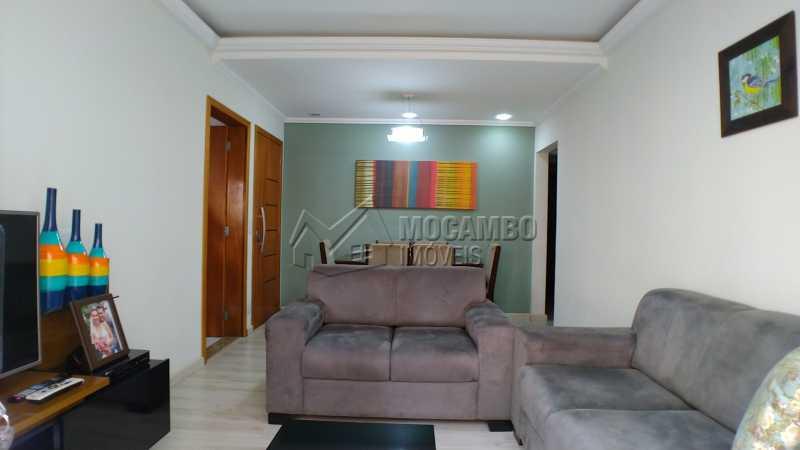 Sala - Apartamento Condomínio Residencial Fernanda, Itatiba, Jardim México, SP À Venda, 2 Quartos, 58m² - FCAP21025 - 1