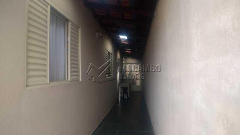 Lateral - Casa 2 quartos à venda Itatiba,SP - R$ 218.000 - FCCA21256 - 8