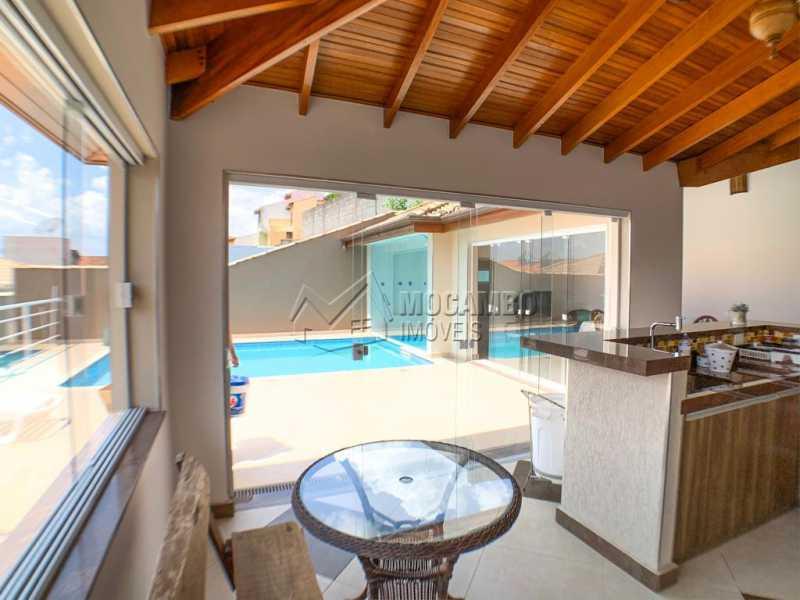 Área gourmet - Casa 3 Quartos À Venda Itatiba,SP Nova Itatiba - R$ 830.000 - FCCA31281 - 15