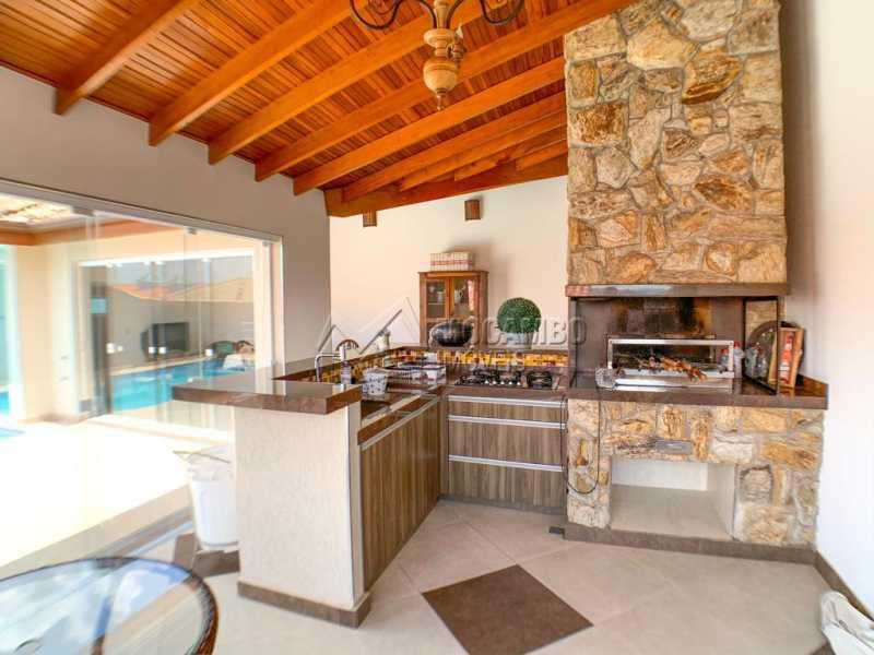 Área Gourmet - Casa 3 Quartos À Venda Itatiba,SP Nova Itatiba - R$ 830.000 - FCCA31281 - 3