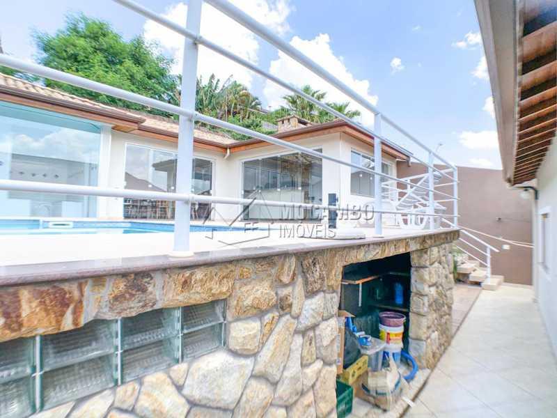 Área externa - Casa 3 Quartos À Venda Itatiba,SP Nova Itatiba - R$ 830.000 - FCCA31281 - 27