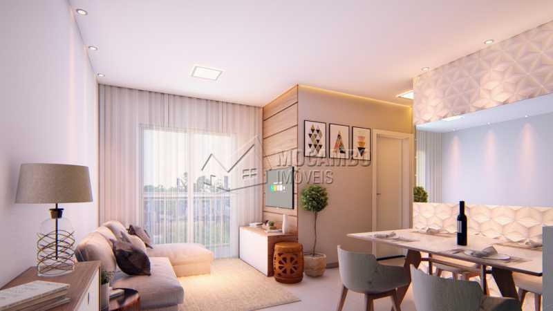 Mirante de Itatiba III - Apartamento 2 quartos à venda Itatiba,SP - R$ 180.000 - FCAP21032 - 3