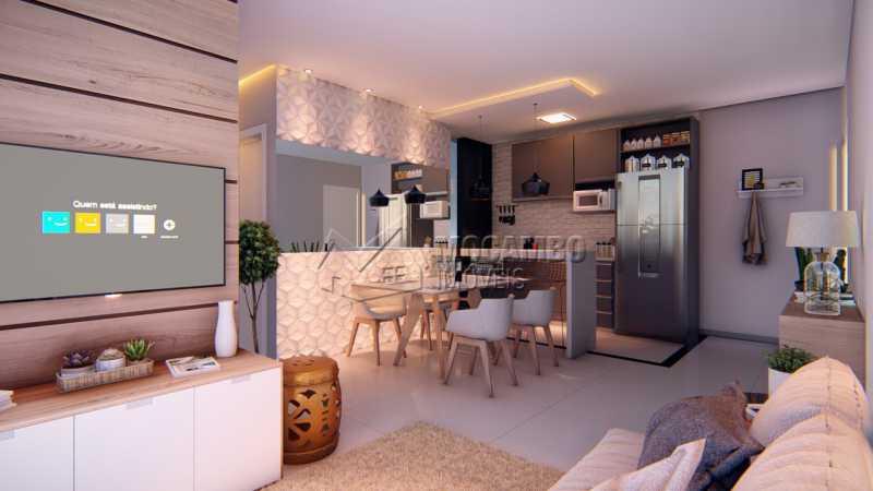 Mirante de Itatiba III - Apartamento 2 quartos à venda Itatiba,SP - R$ 180.000 - FCAP21032 - 1