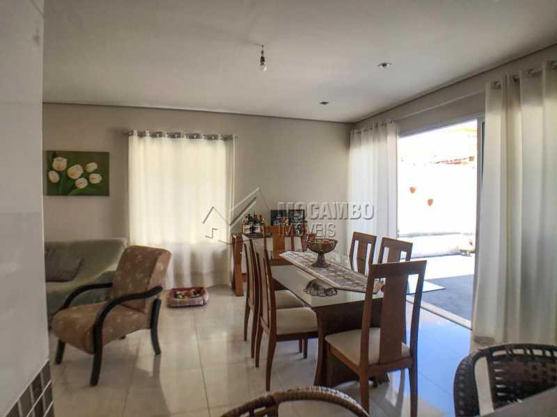 Sala de Jantar - Casa em Condomínio 3 Quartos À Venda Itatiba,SP - R$ 740.000 - FCCN30433 - 12
