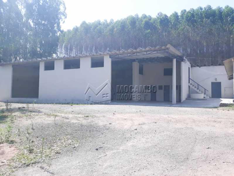 Fachada - Galpão 1000m² Para Alugar Itatiba,SP - R$ 5.600 - FCGA00169 - 1