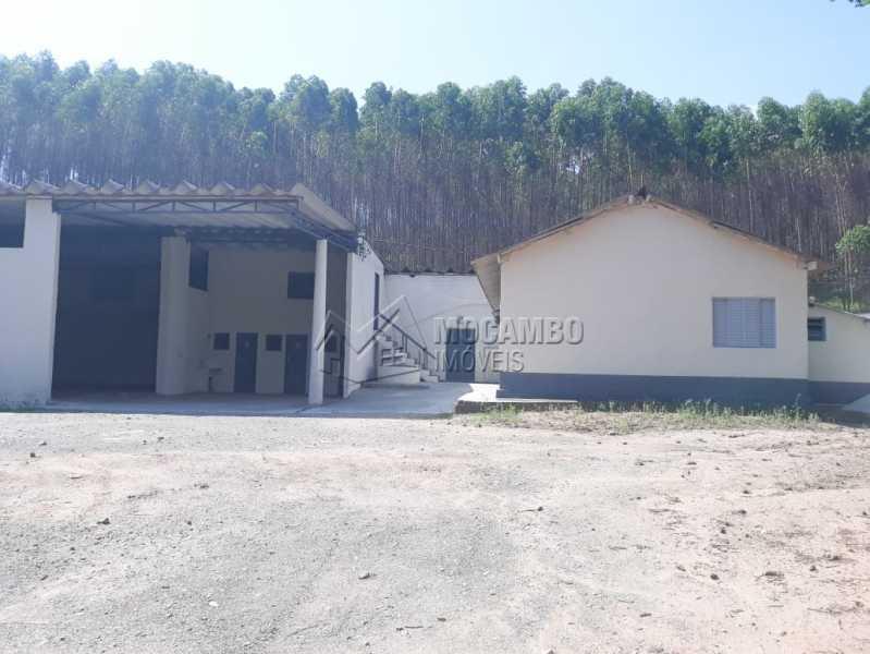 Área externa  - Galpão 1000m² Para Alugar Itatiba,SP - R$ 5.600 - FCGA00169 - 12