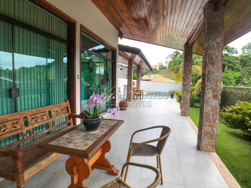 Área Externa - Casa em Condomínio 4 quartos à venda Itatiba,SP - R$ 1.990.000 - FCCN40147 - 12