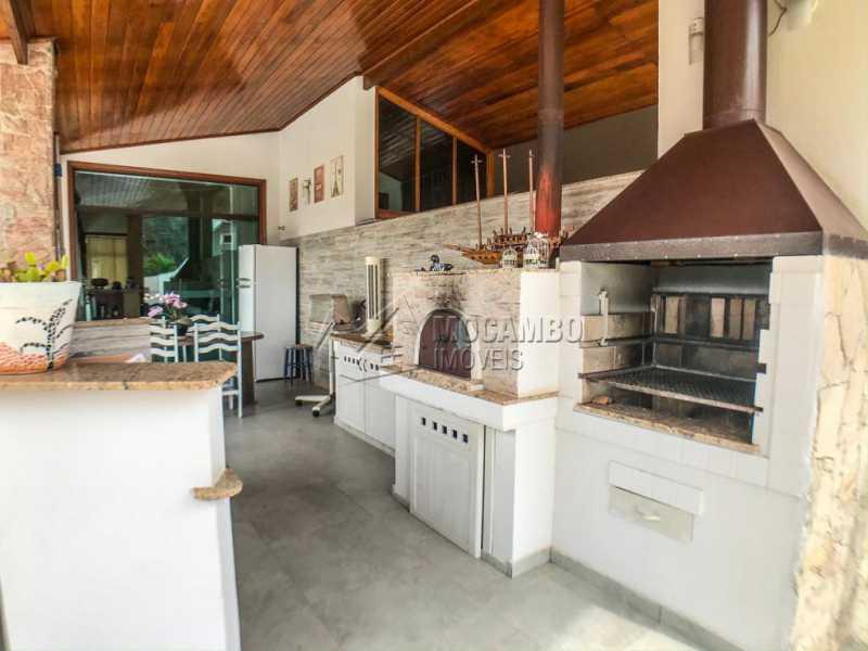 Área Gourmet  - Casa em Condomínio 4 quartos à venda Itatiba,SP - R$ 1.990.000 - FCCN40147 - 23