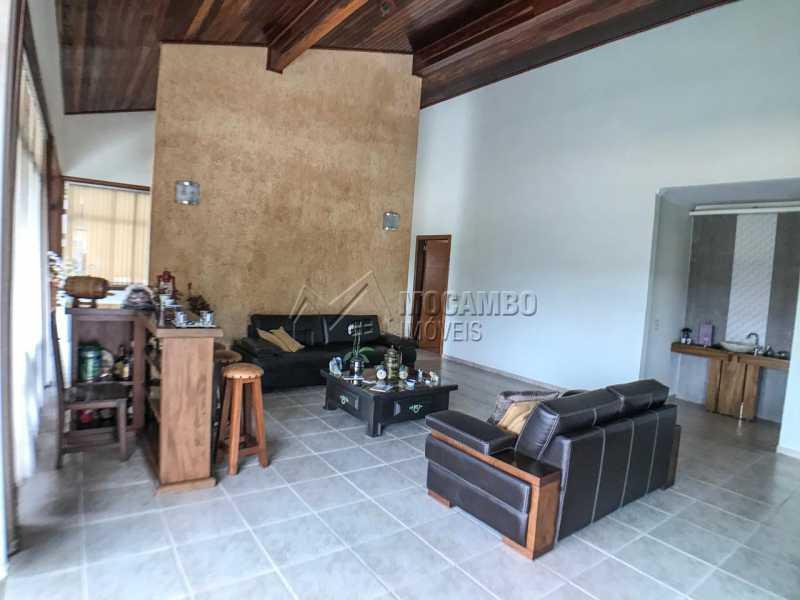 Sala de Visitas - Casa em Condomínio 4 quartos à venda Itatiba,SP - R$ 1.990.000 - FCCN40147 - 5