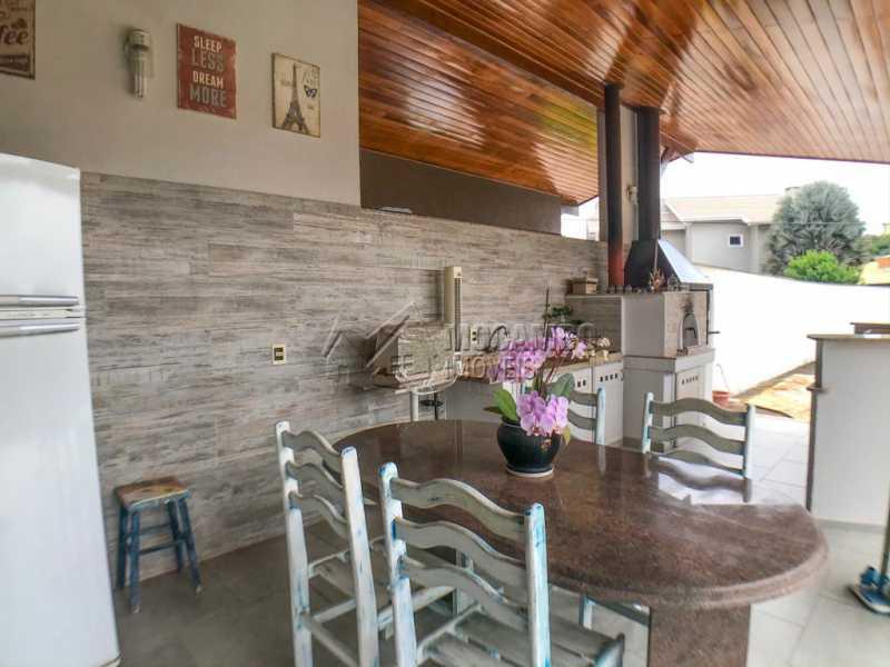 Área Gourmet  - Casa em Condomínio 4 quartos à venda Itatiba,SP - R$ 1.990.000 - FCCN40147 - 24