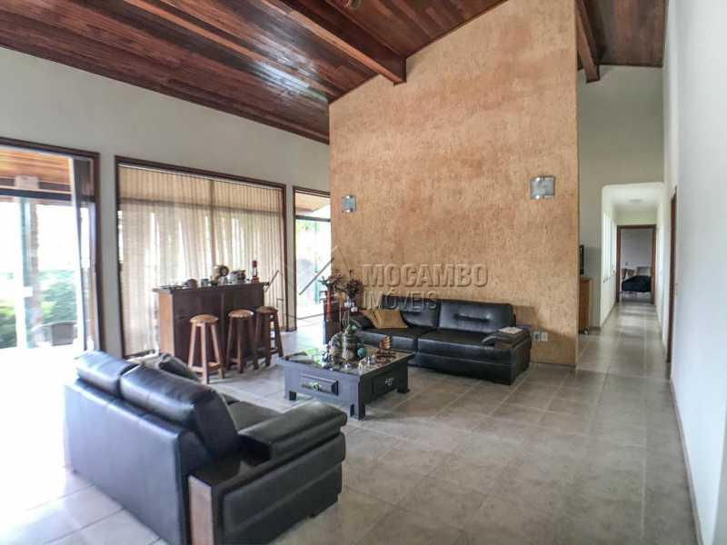 Sala de Visitas - Casa em Condomínio 4 quartos à venda Itatiba,SP - R$ 1.990.000 - FCCN40147 - 4