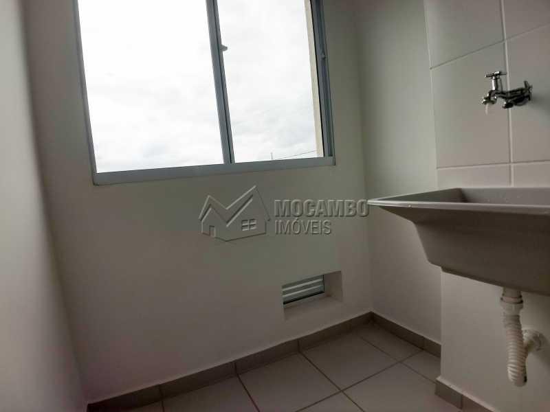 Área de Serviço - Apartamento Para Alugar - Itatiba - SP - Loteamento Santo Antônio - FCAP21042 - 9