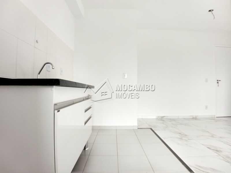 Cozinha - Apartamento Para Alugar - Itatiba - SP - Loteamento Santo Antônio - FCAP21042 - 5