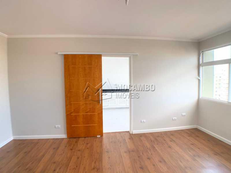 Sala - Apartamento Condomínio Edificio Brasul, Itatiba, Centro, SP À Venda, 3 Quartos, 117m² - FCAP30533 - 3