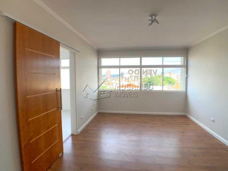 Sala - Apartamento Condomínio Edificio Brasul, Itatiba, Centro, SP À Venda, 3 Quartos, 117m² - FCAP30533 - 5