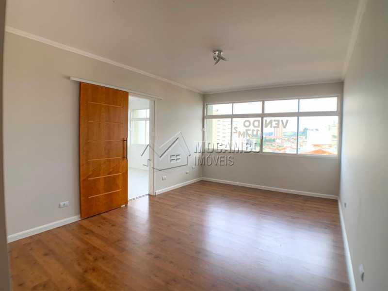 Sala - Apartamento Condomínio Edificio Brasul, Itatiba, Centro, SP À Venda, 3 Quartos, 117m² - FCAP30533 - 7