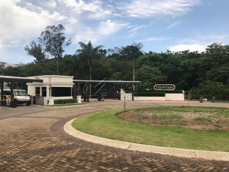 Entrada do condomínio - Terreno 392m² à venda Itatiba,SP - R$ 170.000 - FCUF01297 - 8