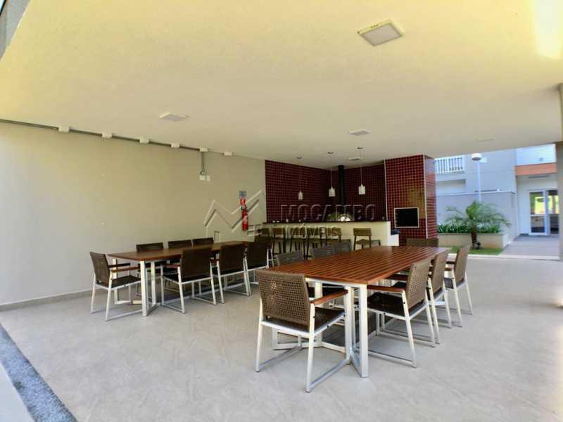 Churrasqueira - Apartamento 3 quartos à venda Itatiba,SP - R$ 440.000 - FCAP30535 - 17