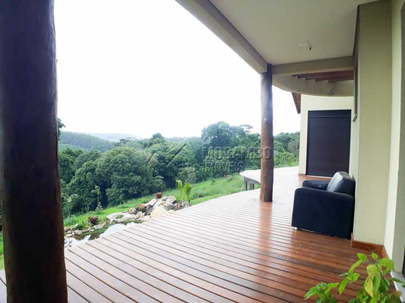 Varanda  - Casa em Condomínio 6 quartos à venda Itatiba,SP - R$ 2.100.000 - FCCN60010 - 6