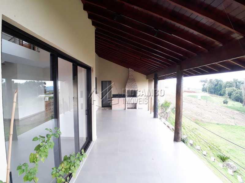 Varanda  - Casa em Condomínio 6 quartos à venda Itatiba,SP - R$ 2.100.000 - FCCN60010 - 5
