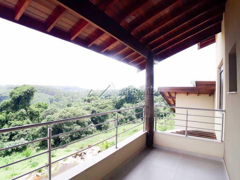 Área externa  - Casa em Condomínio 6 quartos à venda Itatiba,SP - R$ 2.100.000 - FCCN60010 - 18