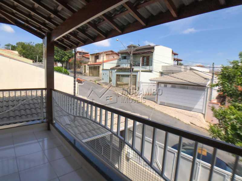 Varanda Suíte 1 - Casa 3 quartos à venda Itatiba,SP - R$ 776.500 - FCCA31302 - 14