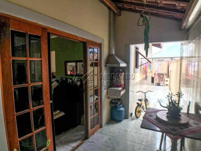 Lateral da Casa - Casa 2 quartos à venda Itatiba,SP - R$ 351.000 - FCCA21301 - 12