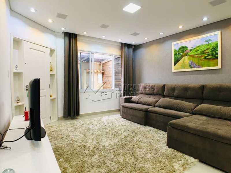 Sala de tv - Casa 2 quartos à venda Itatiba,SP - R$ 450.000 - FCCA21303 - 3