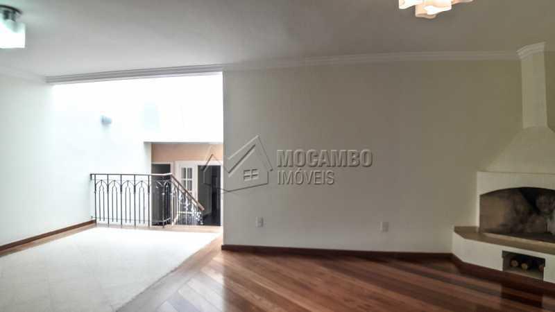 Sala com Lareira - Casa em Condomínio 4 quartos à venda Itatiba,SP - R$ 1.200.000 - FCCN40151 - 3