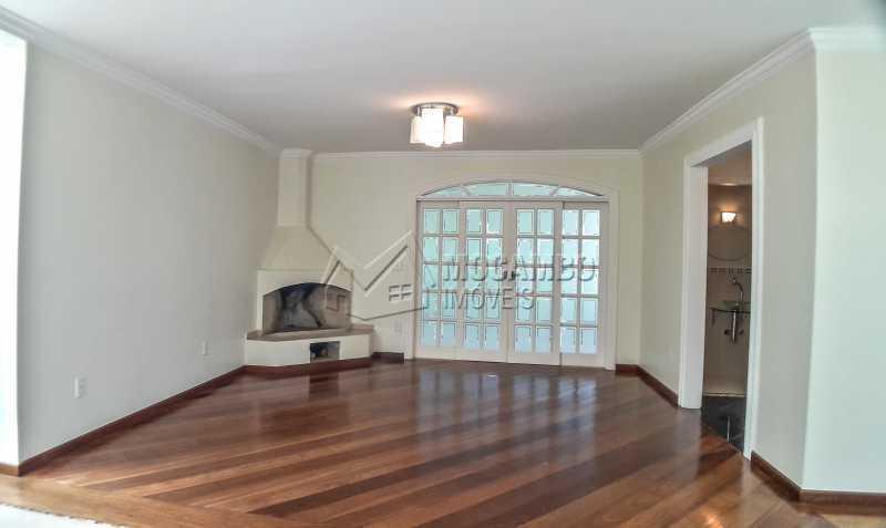 Sala com Lareira - Casa em Condomínio 4 quartos à venda Itatiba,SP - R$ 1.200.000 - FCCN40151 - 4
