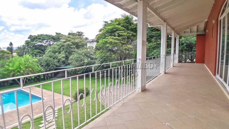 Varanda Ampla das Suíte 01,02 - Casa em Condomínio 4 quartos à venda Itatiba,SP - R$ 1.200.000 - FCCN40151 - 13