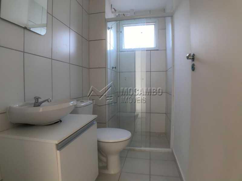 Banheiro  - Apartamento 2 Quartos À Venda Itatiba,SP - R$ 181.000 - FCAP21061 - 7