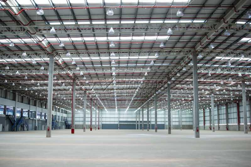 Vista Interna - Galpão 1685m² para alugar Itatiba,SP - R$ 35.404 - FCGA00171 - 3