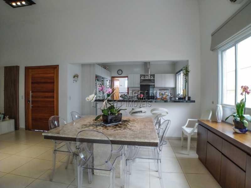 Sala jantar - Casa em Condomínio 3 Quartos À Venda Itatiba,SP - R$ 660.000 - FCCN30442 - 7