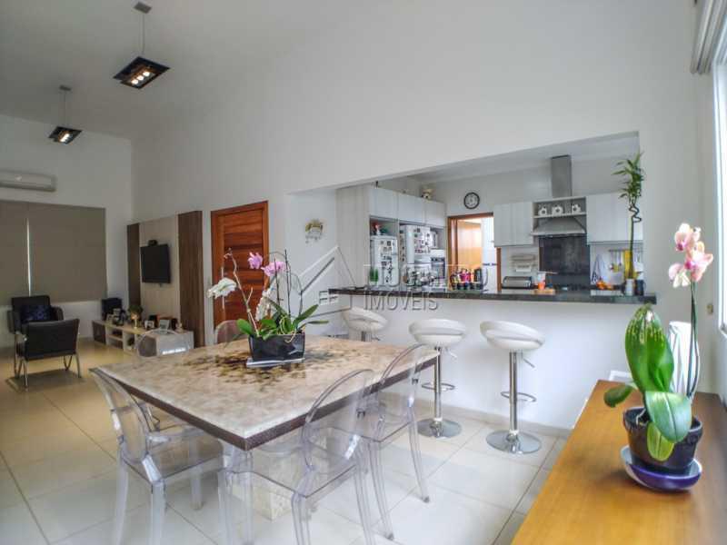 Sala jantar - Casa em Condomínio 3 Quartos À Venda Itatiba,SP - R$ 660.000 - FCCN30442 - 6