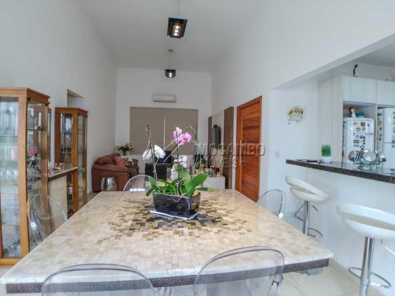 sala Jantar - Casa em Condomínio 3 Quartos À Venda Itatiba,SP - R$ 660.000 - FCCN30442 - 8