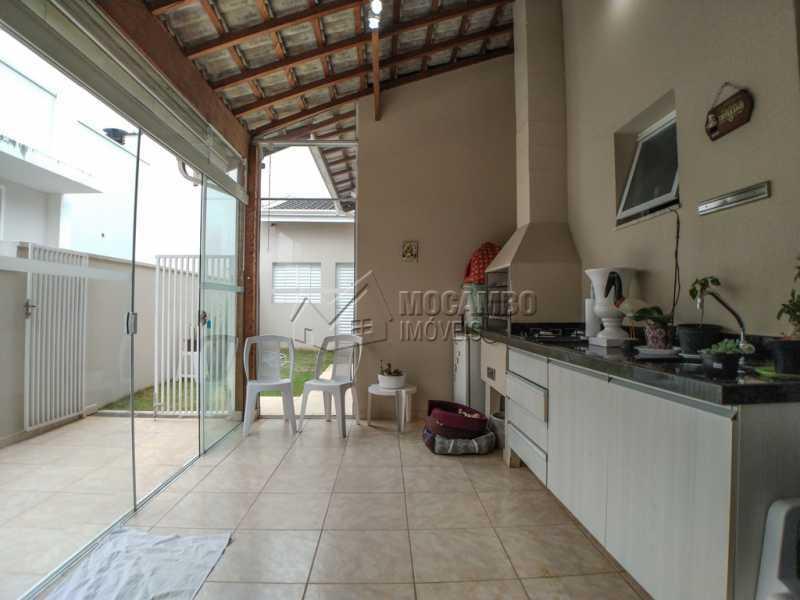 Área gourmet - Casa em Condomínio 3 Quartos À Venda Itatiba,SP - R$ 660.000 - FCCN30442 - 10