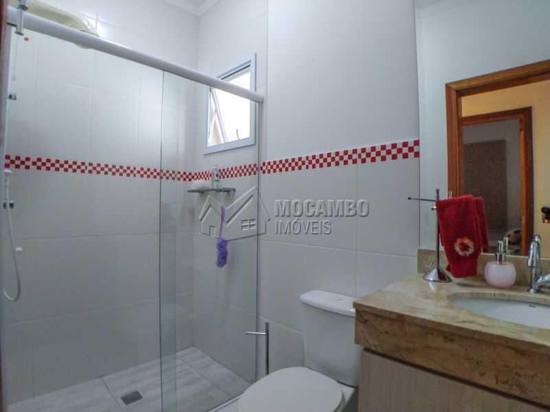 Banheiro social - Casa em Condomínio 3 Quartos À Venda Itatiba,SP - R$ 660.000 - FCCN30442 - 13