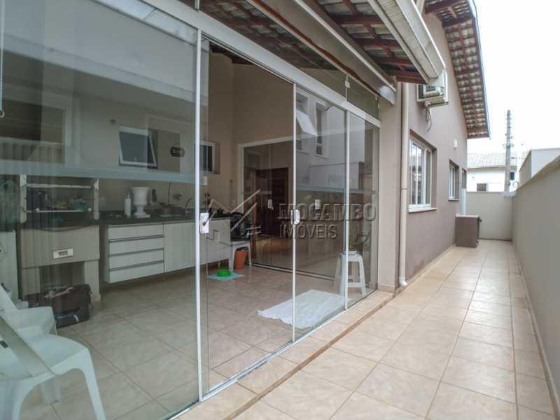Lateral - Casa em Condomínio 3 Quartos À Venda Itatiba,SP - R$ 660.000 - FCCN30442 - 19