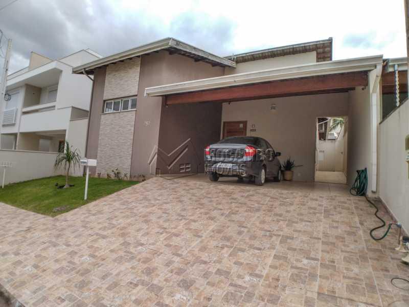 Fachada - Casa em Condomínio 3 Quartos À Venda Itatiba,SP - R$ 660.000 - FCCN30442 - 3