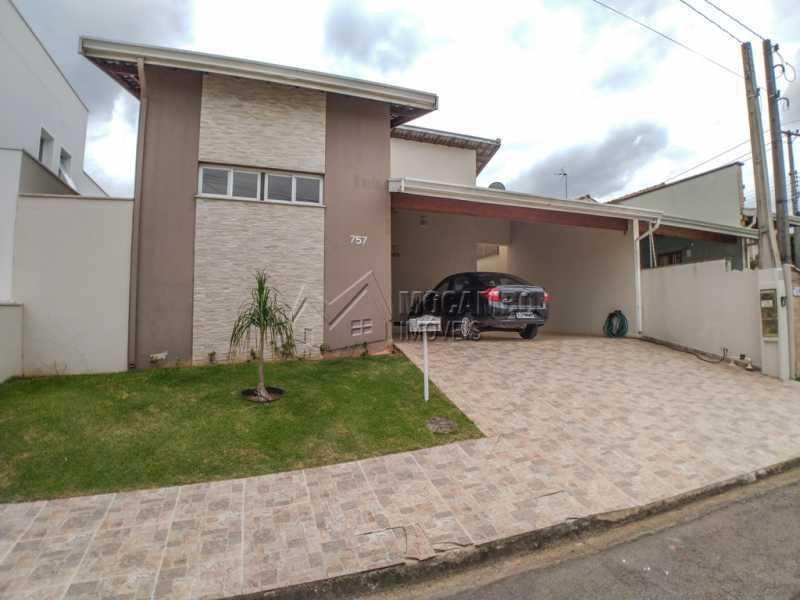 Fachada - Casa em Condomínio 3 Quartos À Venda Itatiba,SP - R$ 660.000 - FCCN30442 - 1